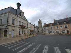 Town hall of Coulanges-sur-Yonne
