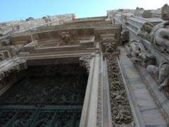 Entranceway to Duomo