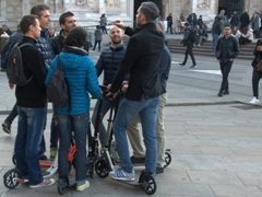 Scooter tour of Milan