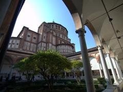 "Santa Maria delle Grazie (""Holy Mary of Grace""), a UNESCO heritage site"