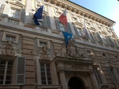 Exterior of Palazzo Doria Tursi, the head of municipal administration since 1848; Via Garibaldi