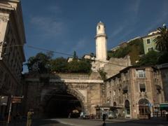 The Galleria Givseppe Garibaldi tunnel is Genoa's largest