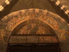 Christ and the Apostles fresco; San Lorenzo Cathedral