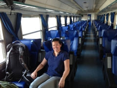 Luckily, we only had to wait an hour to catch the next train towards Cinque Terre!