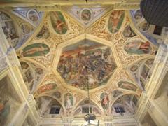 Ceiling of the Deutsche Bank; Via Garibaldi 5