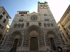 "The gorgeous Cattedrale di San Lorenzo, a definite ""must see"" in Genoa"