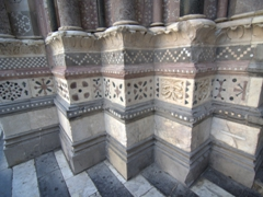 Intricate detail on San Lorenzo Cathedral