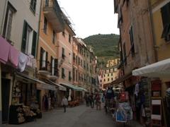 Main street in Vernazza