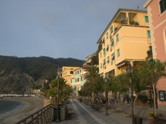 Monterrosso is the biggest beach resort town of the Cinque Terre