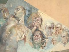 Town Hall mural; Riomaggiore