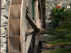 Water wheel; Manarola