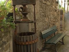 Old winepress in Corniglia