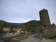 Doria Castle is the oldest surviving fortification in the Cinque Terre