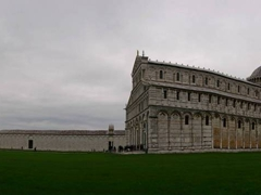 Panoramic view of the Piazza dei Miracoli