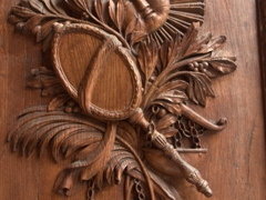 Wooden door detail; Cathedral of Santa Maria del Fiore