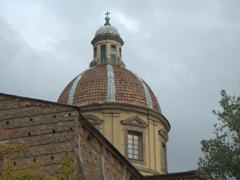 Dome of San Frediano in Cestello (a Baroque, Roman Catholic church)
