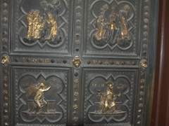 Bronze door; Baptistry of Saint John