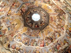 Last Judgement frescoes; inner shell of Brunelleschi's Dome