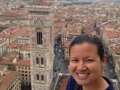 Becky and Giotto's bell tower