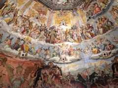 Another view of the Last Judgement; Brunelleschi's Dome