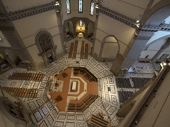 Interior view of Santa Maria del Fiore Cathedral