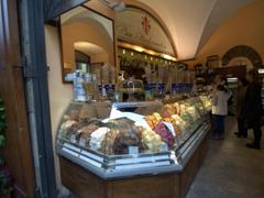 Gelato near Ponte Vecchio