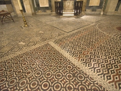 Intricate floor detail; Baptistry of San Giovanni