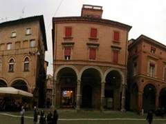 Panoramic view of Piazza Santo Stefano