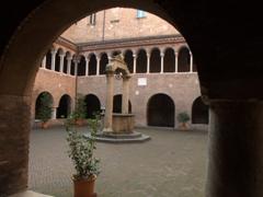 Cloister, Basilica di Santo Stefano; Bologna