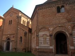 "Two of the Seven Churches (""Sette Chiese"") of Basilica di Santo Stefano"