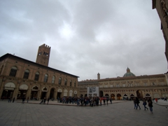 Another view of Piazza Maggiore