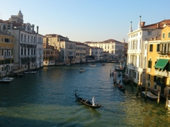 Grand Canal view from the Accademia bridge