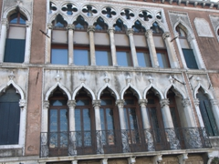 One of over 200 palaces (palazzi) of Venice