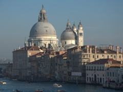Grand Canal view of Santa Maria della Salute Church