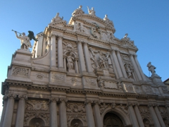 Chiesa di Santa Maria del Giglio (St Mary of the Lily) has one of the finest Venetian Baroque facades in the city