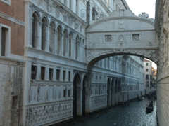 White limestone Bridge of Sighs