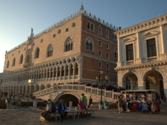 Palazzo Ducale at sunset