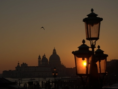 Sunset in Venice