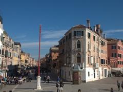 A peek down Via Giuseppe Garibaldi