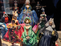 Carnival figurines for sale