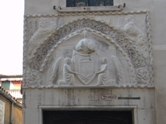 Angel crest near Ponte del Forner