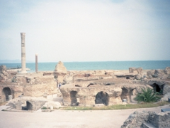 Carthage (founded in the 9th century BC) once served as a great trading empire in the Mediterranean
