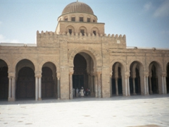 Great Mosque Courtyard of Kairouan