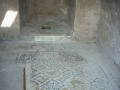 There is an amazing display of well preserved mosaics in the underground villas of Bulla Regia