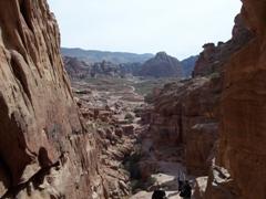 The trek leading up to Al-Deir (aka The Monastery), Petra