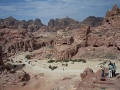 Phenomenal 360 degree view of Petra from the High Place of Sacrifice