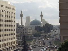 King Abdullah I Mosque; Amman