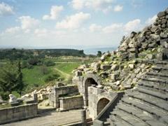 Basalt theater of Umm Qais