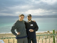 Becky and Mohannad; beach resort in Aqaba