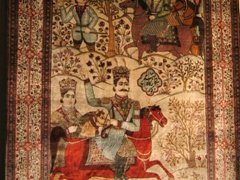 The Carpet Museum in Tehran showcases a wide variety of Persian carpets dating from the 18th Century onward